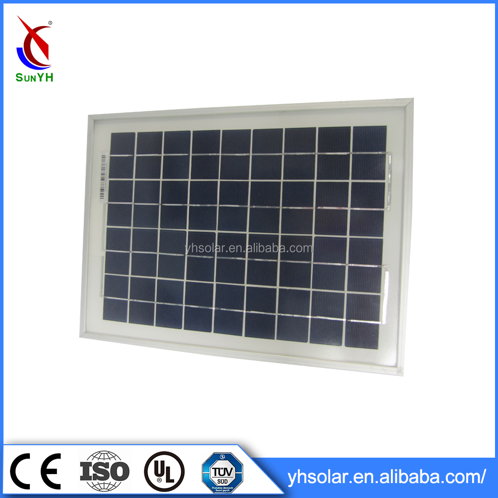 Wholesale China Products sunpower solar panel mini 10 watt solar panel