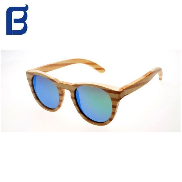 New Design fashionable/cheap wood bamboo sunglasses
