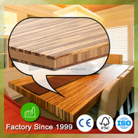 "Laminated wood table tops 72"" x 25.5 "" x 1 1/2 "" Bamboo composite table bench tops"