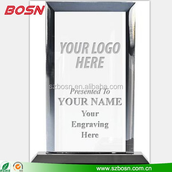 custom shaped acrylic awards, acrylic award blanks, acrylic trophy blanks