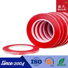 ISO9001&SGS Alibaba Express 3m Width of Red PET double sided adhesive tape for lcd screen