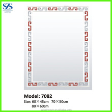 Wholesale 4 Or 5 mm Thickness Silver Glass MIrror In Bathroom
