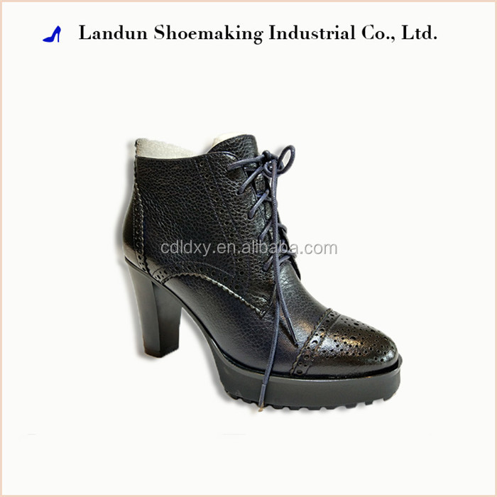 Spring lint new fashion ankle woman shoes lady fire boot