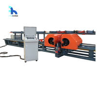 High efficiency CNC double-head Wire Rebar bending machine center.