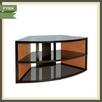 rooms to go teak tv cabinet speaker mdf lcd tv stand PY004