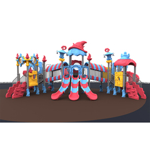 2018 New Product Magic theme Plastic Slide Outdoor Playground for kids