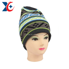 Over 10 years experience Fashion warmer multicolor wool crochet hats