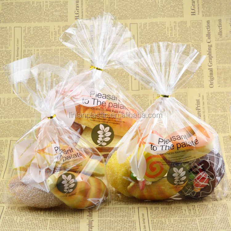baking packaging west cake toast bread bag transparent sweet snack food bag