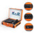 3speed Wooden Suitcase Vinyl Turntable Record Player With Bluetooth USB SD