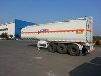 33ton oil tanker semi trailer for oil transport 3 axles tanker trailer one year warranty