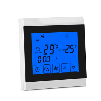 Central ventilation cooling thermostat 3 speed fan control