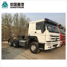 low price 336hp SINOTRUCK SINOTRUK 371hp used HOWO trailer head truck head tractor truck for sale