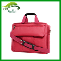 High Quality Custom Red Laptop Bag for lady single strap backpack laptop