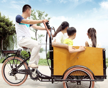 steel frame family cargo use china cargo tricycle with cabin
