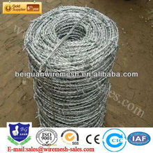 Electro Galvanized Barbed Wire(professional factory)
