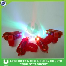 Custom Logo Plastic Mini White Bright Led Finger Light
