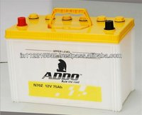 55D23 MF Car Batteries 12V 60AH