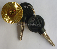 Brass lock cylinder for car locks