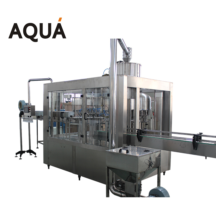 Liquid packaging machinery plastic bottling line for sale