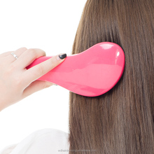 ABS detangle hair brush with handle