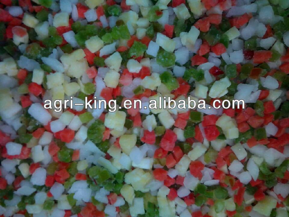 IQF Mix Vegetables Name Frozen Foods