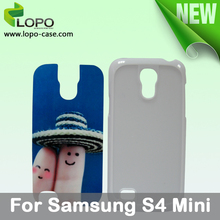 Blank Sublimation hard plastic case for Samsung S4 mini