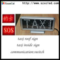5050 RG SMD Taxi Top Led Sign for advertising/Taxi Advertising Signs/Message taxi