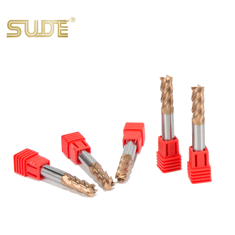 SUDE Solid <strong>Carbide</strong> End Mills (D0.1~D20mm) braze coating solid <strong>carbide</strong> 4 flute endmill for end mill tool grinder