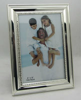 Sterling Silver Photo Frame with MDF and Black Velvet Back and Stand