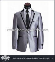 hot sale men silver business suits