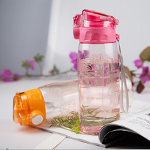 Food Grade bicycle plastic water bottle for sports
