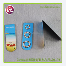 Alibaba wholesale promotions gifts paper folding magnetic bookmark
