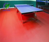 Indoor table tennis PVC synthetic sports flooring surfaces