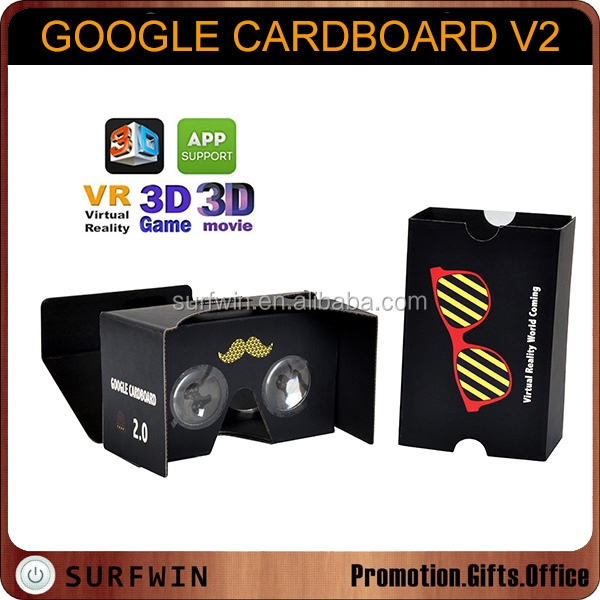 google virtual reality cardboard 3d vr glasses