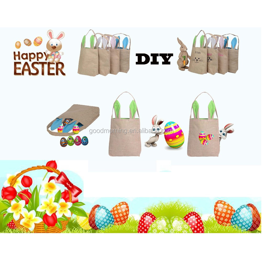 Personalized Easter Bunny Stock Bags