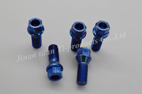 Gr5 titanium wheel bolt cone seat for racing car
