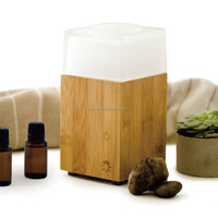 WOOD AND GALSS COVER AROMA DIFFUSER