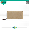 china supplier online shopping new arrival vintage and simple hot selling fashion canvas wallet more screens design