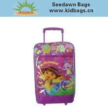 Kids Semi-soft Trolley Travel Case in Cartoon Theme