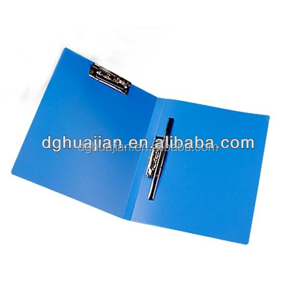 Custom manila folders double spring clip file A4 FC size available with PP Eco Friendly Material