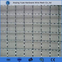 Real factory supply Stainless steel crimped wire mesh/Grill mesh/Barbecue wire mesh