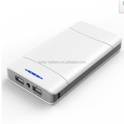 Max input current 2A Max 85% convention effiency Super higher 20000mah portable power bank for philips