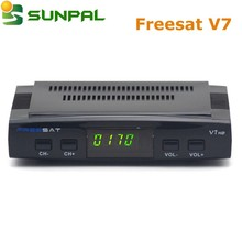 freesat v7 china manufacturer price hd tv smart free to air remote control satellite receiver wholesale