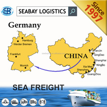 Reliable container sea freight from shanghai to hamburg