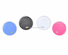2017 new innovative products electronic gadgets smallest size round key finder mini anti lost alarm