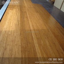 BY environmentally friendly 12mm carbonized bamboo flooring
