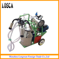 Electric Vacuum Portable Milking Machine for Cow