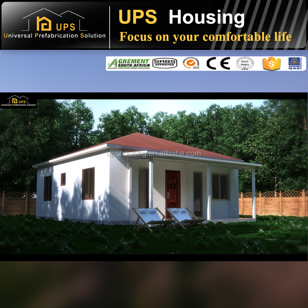 Reliable Economical Excellent fireproof Four Bedroom prefab house price