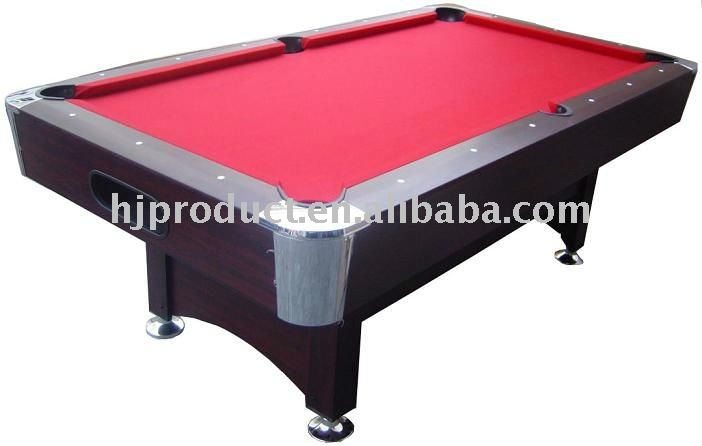 Elegant design billiard table with all accessories
