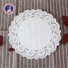 logo picture customized printed paper doilies 2017 sale